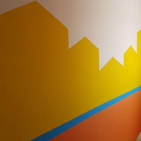 Rôzne farebné steny